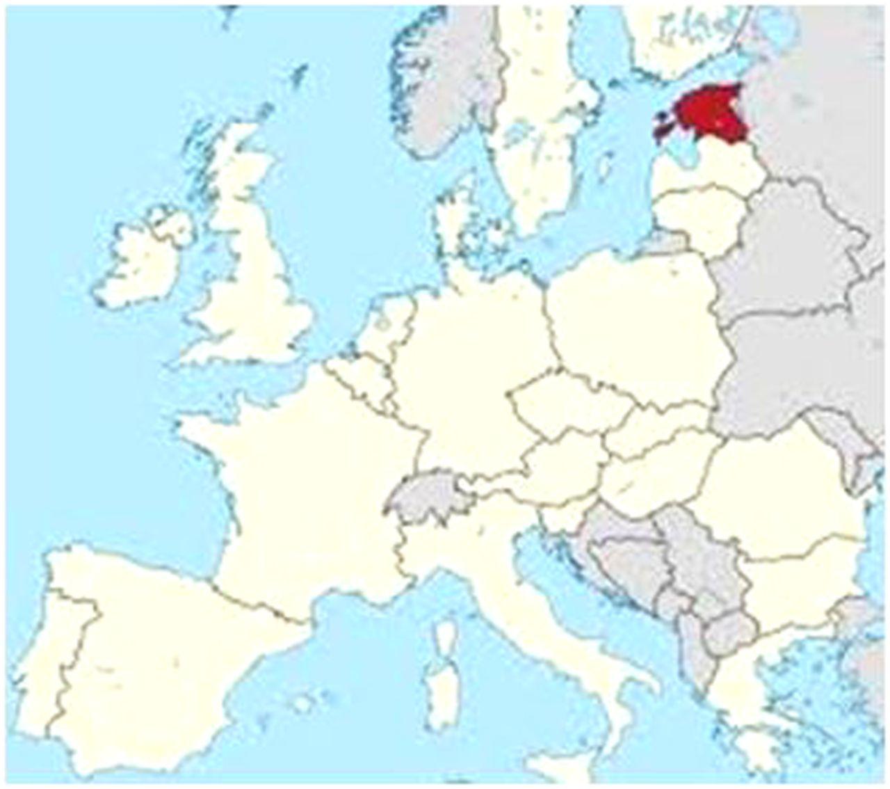 Estonia Practical Neurology - Estonia map download