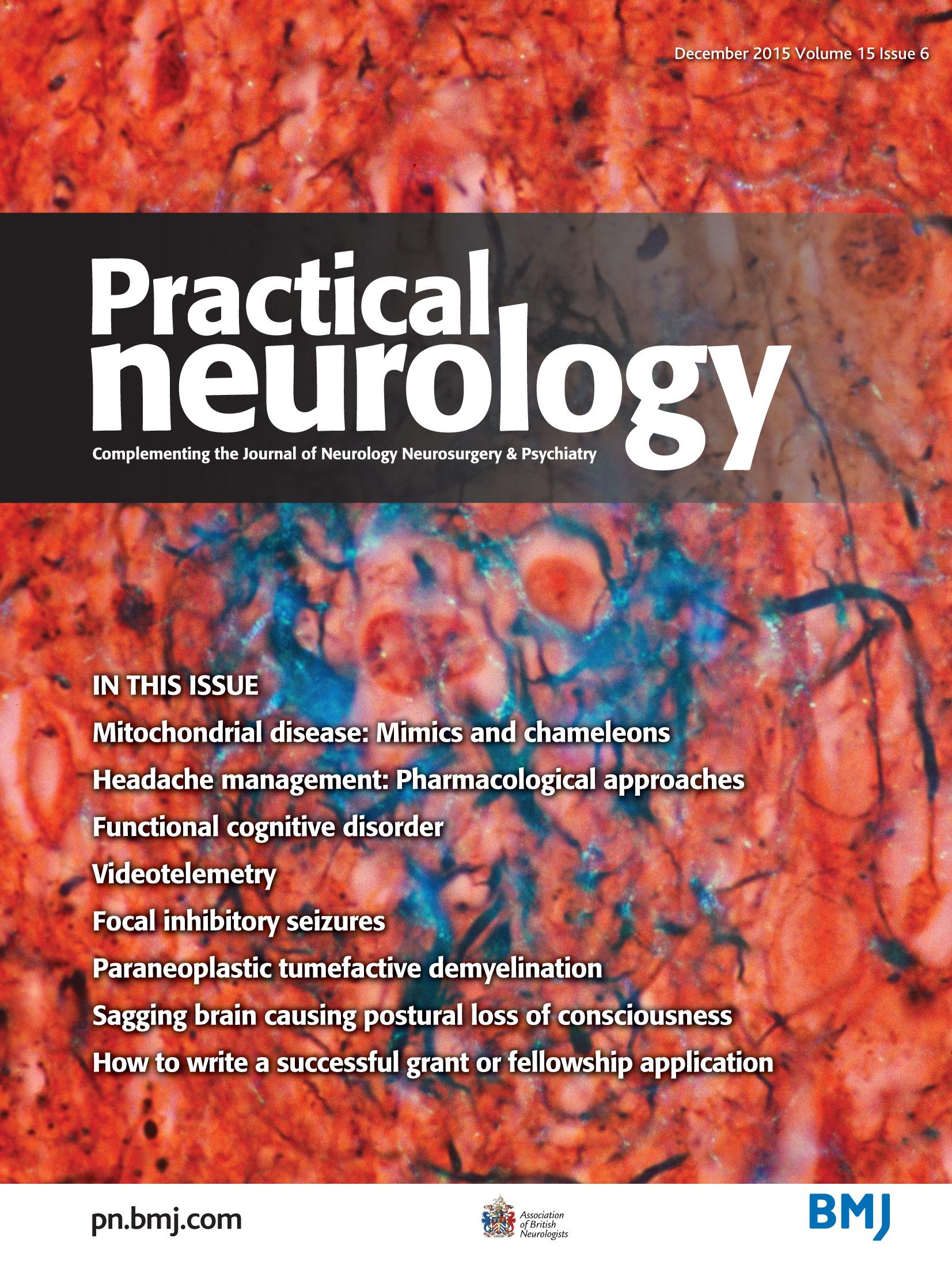 Headache management: pharmacological approaches | Practical Neurology