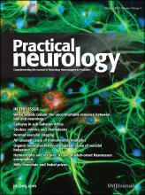 Practical Neurology: 13 (1)