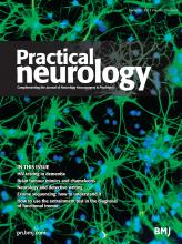 Practical Neurology: 13 (6)
