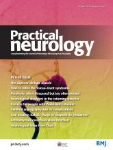 Practical Neurology: 18 (5)