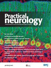 Practical Neurology: 19 (6)